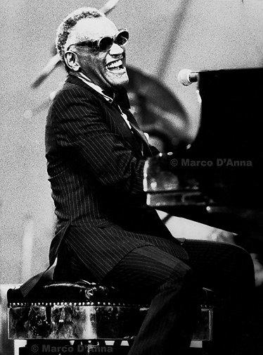 Ray Charles, 1986