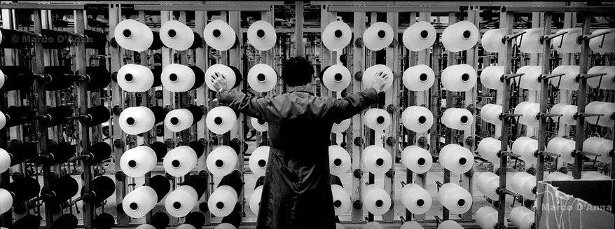 Lavorazione lana, monografia
